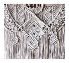 Ancestral weave Macrame wall hanging by AncestralStore   Etsy