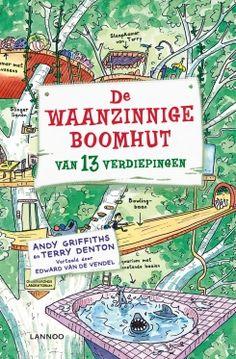 De waanzinnige boomhut van 13 verdiepingen  van Andy Griffiths. Leuk en grappig boek. Goed leesbaar voor kinderen met leesproblemen.