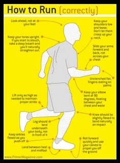How to Run (correctly) - Some great info on proper training for anyone starting out running or interested in running!! :)