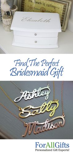 You are sure to find the perfect memento in our huge selection of personalized bridesmaids gifts. Gifts For Wedding Party, Wedding Wishes, Party Gifts, Diy Wedding, Dream Wedding, Wedding Ideas, Personalized Bridesmaid Gifts, Bridesmaids And Groomsmen, Groomsman Gifts