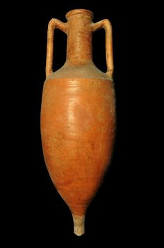 Dressel Amphora, Second half of first century CE. From Oplontis B, room 1 (cat. Pompeii, Ancient Rome, Roman Empire, Archaeology, First Time, Pottery, Image, Cat, Room
