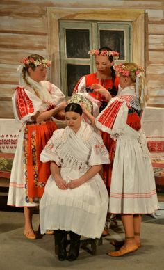 Hriňová town, Podpoľanie region, Central Slovakia. Costumes Around The World, Vintage Couture, Folk Costume, Ethnic Fashion, Traditional Dresses, Folklore, Passion For Fashion, Dress Outfits, Europe