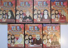 EWTN'S 7 DVD MY CATHOLIC FAMILY SET(VOL 2)*ANIMATED FOR CHILDREN*ST.JOSEPHINE BAKHITA*ST.CATHERINE OF SIENA*ST.PADRE PIO*ST.MONICA*ST.EDITH STEIN*ST.THERESE OF LISIEUX*ST.ANTHONY OF PADUA /AN EWTN 7 DVD SET EWTN http://www.amazon.com/dp/B00MDLHXMW/ref=cm_sw_r_pi_dp_ClM3tb03BPEXWRAA