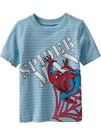 Marvel™ Spider-Man Wrap-Graphic Tees for Baby Superhero Fashion da2713fb8f5b