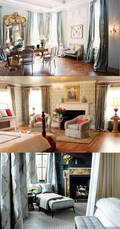 Gorgeous Treatments and Curtains for Top Windows - http://interiordesign4.com/gorgeous-treatments-curtains-top-windows/