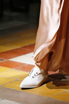 15 Accessory Trends To Update Your Look #refinery29  http://www.refinery29.com/accessory-trends#slide36  White SneakersLanvin.