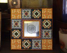 Hama gifts: Mosaic perler mirrow