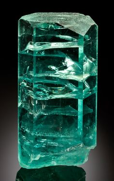The Helix - 7 Kilo Aquamarine Crystal. This and more important crystals for sale on CuratorsEye.com