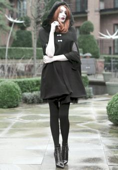 Stormy Weather & A Beautiful Cape - Click for Olivia Emily in Music Ambiance http://gv.lauderlis.net/olivia_emily_4.php
