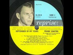 Once Upon A Time by Frank Sinatra - YouTube ~ this may be a repeat, but I like it.  ;-)