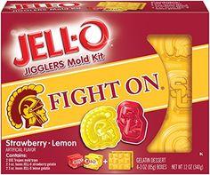 Amazon.com : JELL-O California Dessert Mold Kit, University of Southern, 12 Ounce : Grocery & Gourmet Food