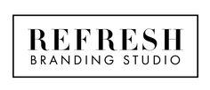 Refresh Branding Studio Logo & Homepage