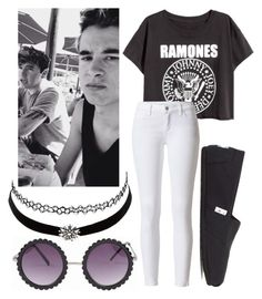 """""""Lunch w/ Kian Lawley and Jc Caylen"""" by kian-and-jc-forever ❤ liked on Polyvore featuring TOMS and Charlotte Russe"""