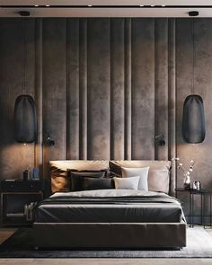 Cute Bedroom Decor Ideas For Romantic Retreat To Copy Soon – Home Decor İdeas Modern Hotel Bedroom Design, Master Bedroom Interior, Modern Bedroom Design, Contemporary Bedroom, Interior Modern, Bedroom Designs, Bedroom Furniture, Modern Luxury, Luxury Furniture