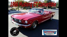 1966 Mustang GT Convertible at McCormick's Classic Car Auction Mustang C...