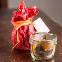 Homemade Mulling Spices for Apple Cider, Wine and Tea- this makes an tasty DIY Christmas gift.