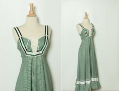 vintage 1970s Gunne Sax maxi dress by StopTheClock on Etsy