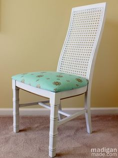 Madigan Made { simple DIY ideas }: A Thrift Store Chair DIY Update