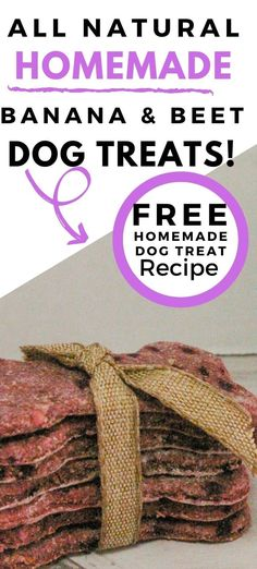 Yummy and delicious red homemade dog treats. #dog treats Homemade Dog Cookies, Homemade Oatmeal, Homemade Dog Food, Pumpkin Dog Treats, Diy Dog Treats, Healthy Dog Treats, Dog Biscuit Recipes, Dog Food Recipes