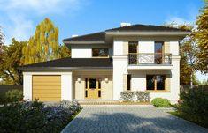 DOM.PL™ - Projekt domu FA Bryza CE - DOM GC4-58 - gotowy projekt domu