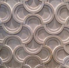 Swarovisk Concrete Sculpture, Concrete Tiles, 3d Texture, Tiles Texture, Wall Patterns, Textures Patterns, Leather Wall Panels, 3d Wall Tiles, 3d Panels