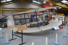 The machine is known variously as the Kitchen annular biplane and the Lee-Richards annular biplane. Flight tests in 1911 were disappointing and that Autumn the biplane was destroyed on the ground by high winds, when its hangar collapsed.