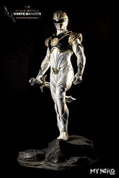 ArtStation - White Ranger (Custom Design), Rishabh Yadav