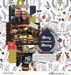 December | December '20 Featured Products | Sahlin Studio | Digital Scrapbooking Designs