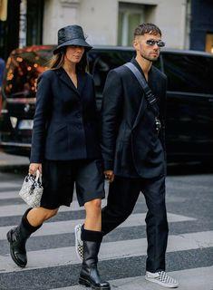 The Bar jacket - Ready-to-wear - Women's Fashion Christian Dior, Unisex Clothes, Unisex Outfits, Unisex Fashion, Womens Fashion, Look Street Style, Rock Style, Stylish Couple, Fashion Couple