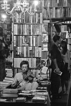 Bookstore, Paris (obviously).