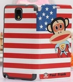 This stylish Paul Frank Flip Leather Case For Samsung Galaxy Note 3 is made of High quality leather and offers the perfect way to add protection and create individual style for your Samsung Galaxy Note 3. Calling Clumsy.