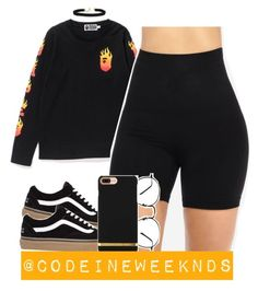 """3/18/17"" by codeineweeknds ❤ liked on Polyvore featuring A BATHING APE and Vanessa Mooney"