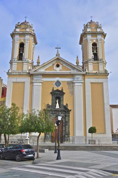 For DIRTY GAMES: Ceuta's Cathedral (سبتة).