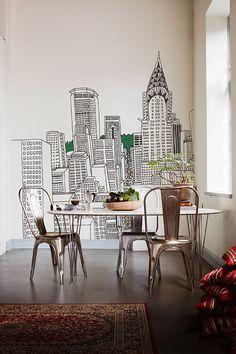 Iti Il Meglio Della Grande Città Senza Le Paper Wall Decorpaper