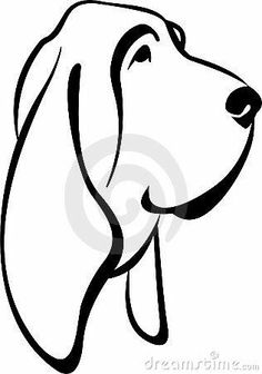 Home Gt Royalty Free Stock Photo Vector Dog Bloodhound Tattoo Design Puppy Gifts, Dog Lover Gifts, Dog Gifts, Dog Lovers, Basset Hound Dog, Beagle, Vector Dog, Dachshund, Loss Of Dog