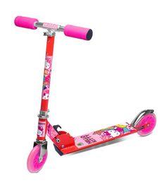 Quer dar uma volta por aí cheia de estilo? O patinete da Hello Kitty – DTC te acompanha nessa!