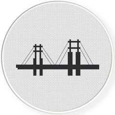 FREE for August 3rd 2017 Only -  Bridge Cross Stitch Pattern