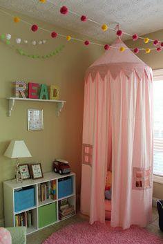 Kids Bedroom Reading Corner f:id:sclo-a:20130712224638j:plain | decor | pinterest