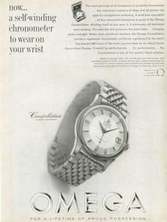 Omega Constellation Watch Chronometer (1961)
