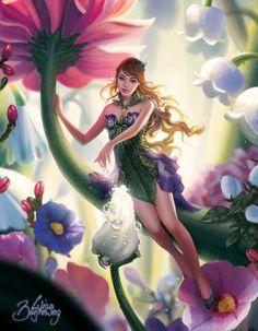 Mundos fantásticos вдохновение в 2019 г. fantasy art, fairy art и fairy fig Beautiful Fantasy Art, Beautiful Fairies, Beautiful Artwork, Fantasy Artwork, Fantasy Images, Elfen Fantasy, Fantasy Kunst, Fairy Pictures, Dark Disney