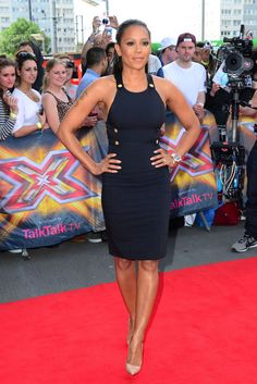 Mel B attends The X Factor London judges auditions at Emirates Stadium in London