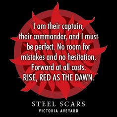 Quote from #SteelScars by Victoria Aveyard