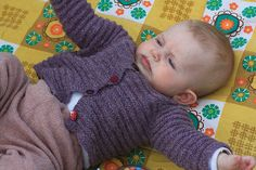 FREE Ravelry: No Tears Baby Cardigan pattern by Astrid Colding Sivertsen