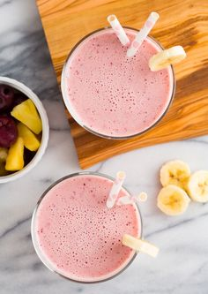Sip on the perfect Post-Workout Smoothie with this easy millennial pink drink recipe.