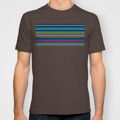 Re-Created Channels xii #T-shirt by #Robert #S. #Lee - $18.00