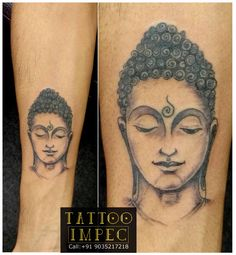 #Buddha Tattoo #Peace # ;)  Get inked from Experienced Tattoo Professional.. Call: Sunil C K @ +91 9035217218 to book your appointment.  www.facebook.com/tattooimpec
