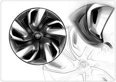 wheel design sketch - Google Search