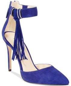 82a743743ead54 Nine West Everafter Fringed Two-Piece Pumps & Reviews - Pumps - Shoes -  Macy's