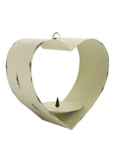 This is nice too.  Simple but beautiful -Vintage Heart Bird Feeder by Matalan