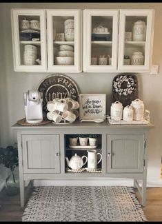48 Stunning Diy Coffee Bar Ideas For Your Home - roomiet. - 48 Stunning Diy Coffee Bar Ideas For Your Home 48 Stunning Diy Coffee Bar Ideas For Your Home Design # - Farmhouse Dining Room, Coffee Bar Home, Coffee Decor, Kitchen Decor, Bars For Home, Kitchen Sideboard, Diy Coffee Bar, Dining Room Sideboard, Breakfast Bar Table